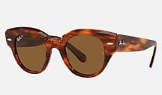 Ray-Ban RB2192F 954/57 47-22 ROUNDABOUT(JPフィット) ハバナ 新作サングラス