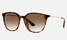 Ray-Ban RB4348D 710/13 57-18 RB4348D(アジアエリア限定) ハバナ 新作サングラス