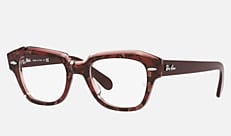 Ray-Ban RX5486 8097 46-20 STATE STREET(スモール) ハバナ 新作メガネ