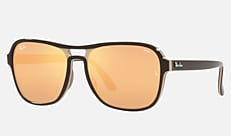 Ray-Ban RB4356 6547B4 58-17 STATE SIDE ダークブラウン 新作サングラス