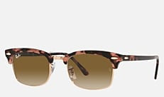 Ray-Ban RB3916 133751 52 21 CLUBMASTER SQUARE ピンクハバナ 新作サングラス